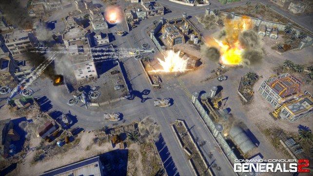 Das Taktikspektakel ist vormals als Command & Conquer - Generals 2 entwickelt worden.