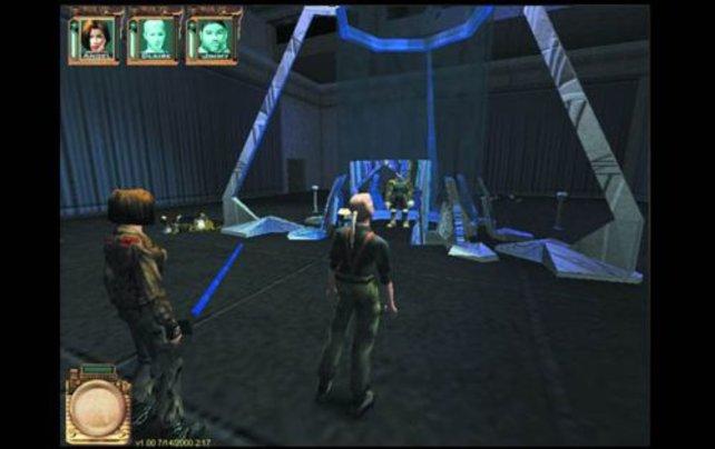 Eine Szene aus dem Spiel