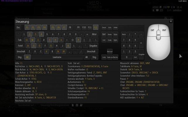 Bis ihr alle Tastenkürzel der Tastatur-Steuerung verinnerlicht habt, vergehen ein paar Flugstunden.