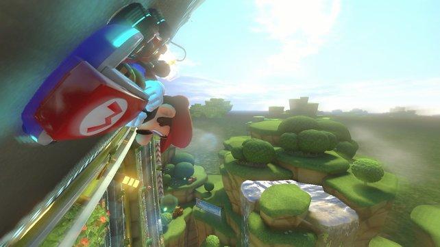 Mario Kart 8 stellt einiges auf den Kopf.