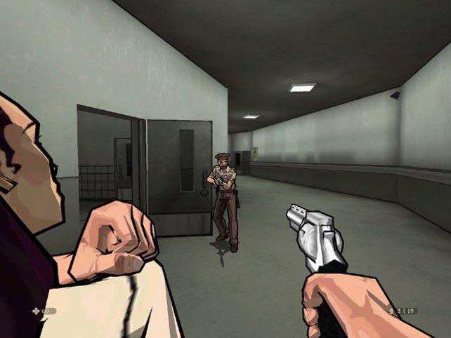 Muni knapp oder Schussverbot? Kein Problem - Feinde können als Schutzschilde dienen!