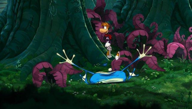 Rayman: Origins ist nur einer der fünf Titel, die Ubisoft zum PS Vita-Launch parat hält.