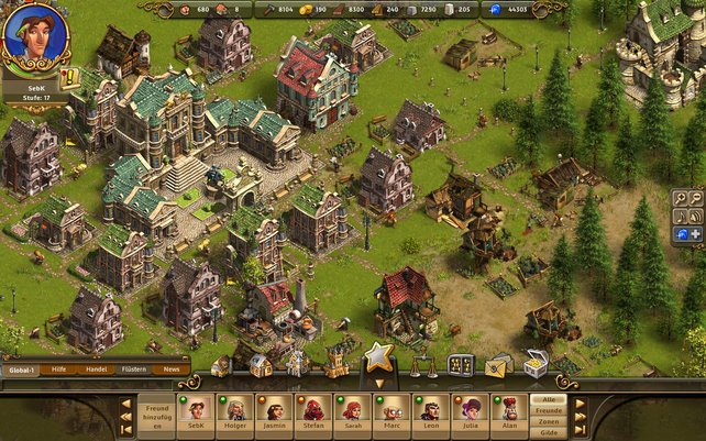 Obwohl Die Siedler Online ein Browser-Spiel ist, sieht es hübsch aus.