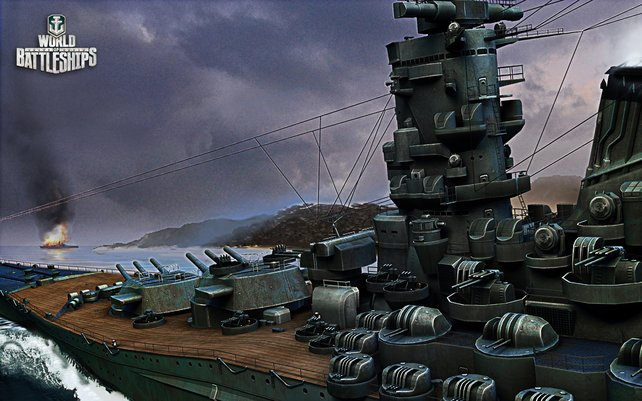 Auch die detaillierten Kriegsschiffe machen den Reiz des Spiels aus.