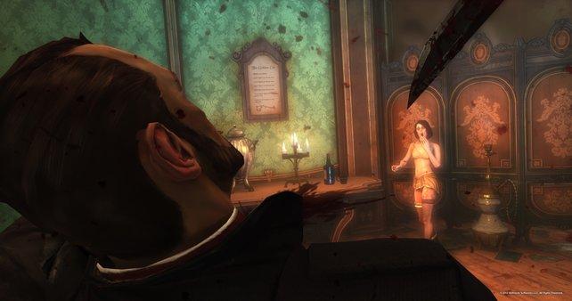 Solche Szenen gehören in Dishonored zu eurem Alltag.