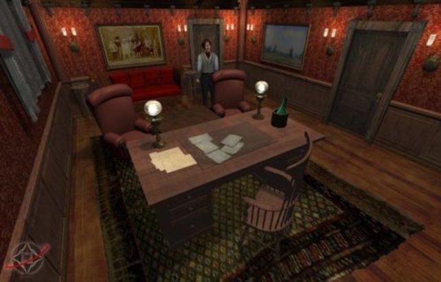 Fiddledy´s Büro