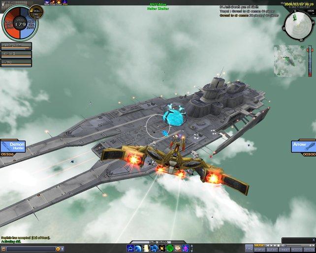 Zerstöre das Flaggschiff deiner Gegner.