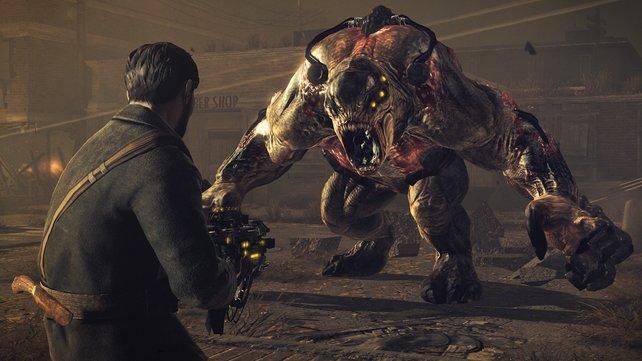Dieses große Viech steht euch schon in der ersten Stunde als Feind gegenüber.