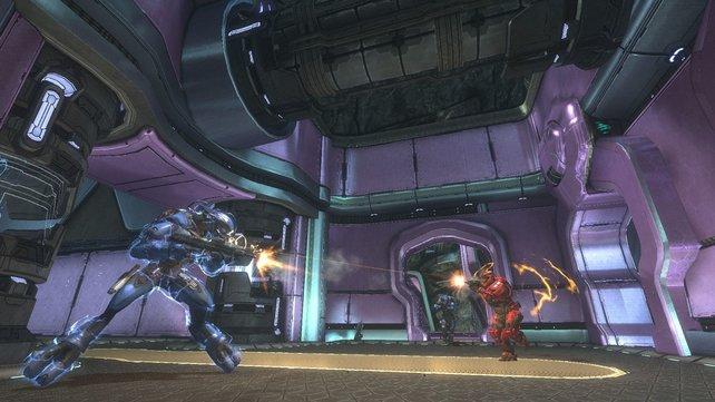 Im kooperativen Modus von Halo - Combat Evolved Anniversary kriegt ihr Verstärkung.