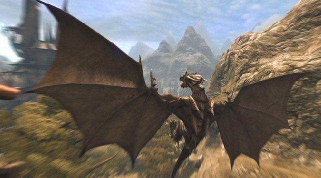 Vom Jäger zum Gejagten: Ihr könnt in die Haut eines Drachen schlüpfen.