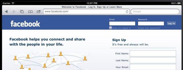 Facebook steigt in mobilen Spielemarkt ein