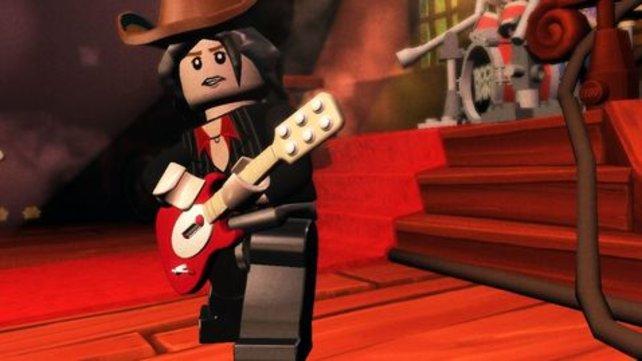 Auch die Lego-Version bietet euch Rock in Aktion.