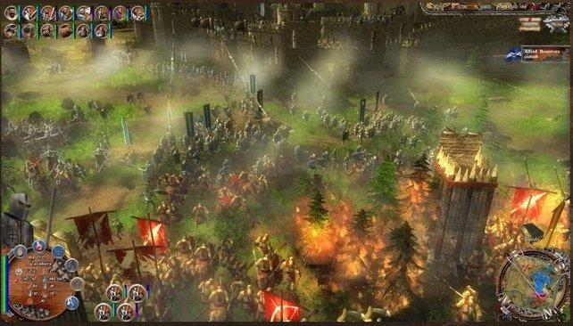 Feuerpfeile können schnell zu einem Flächenbrand führen. Ein weiser Zug gegen eurem Gegner.