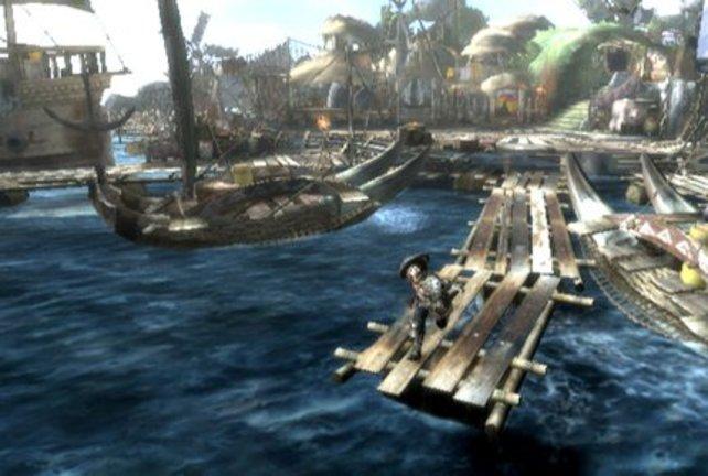 Dieses Fischerdorf ist Eure Ausgangsbasis.