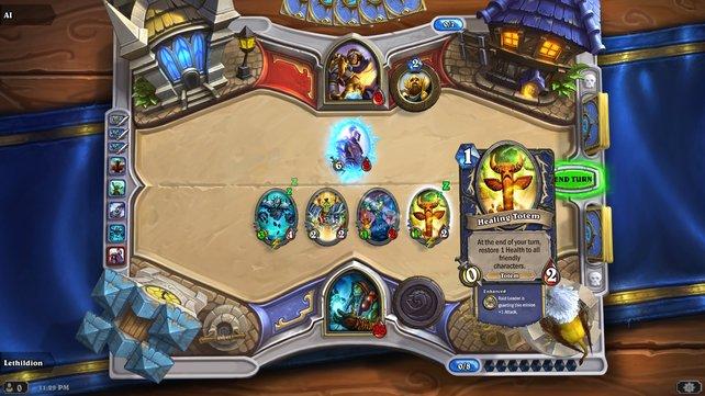 Hearthstone mixt die Elemente von Sammelkartenspielen mit dem Warcraft-Universum.