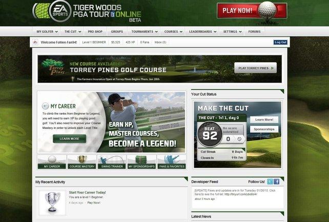 Aller Anfang ist schwer. Mit Stufe Eins beginnen alle Golfer.