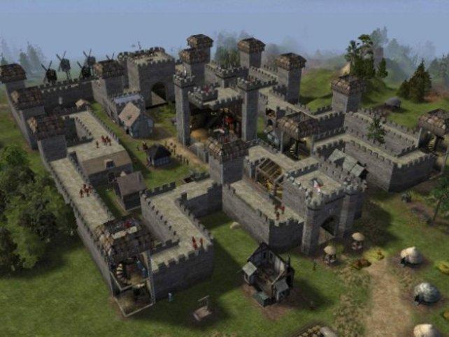 Eine imposante Burg