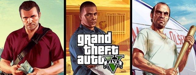 GTA 5: Rockstar zeigt, wie es sich spielt (Video)