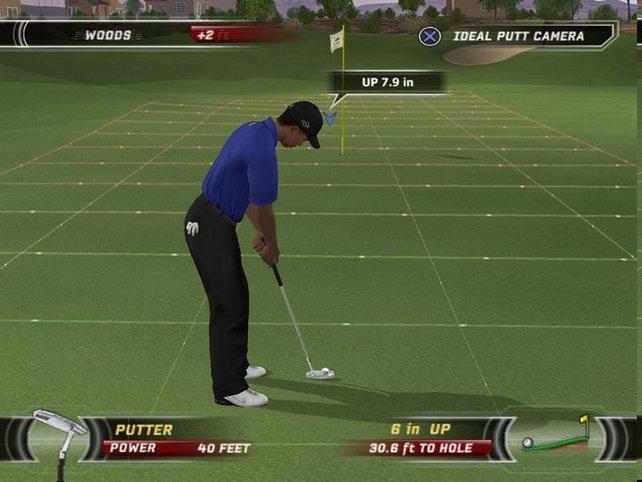 Tiger Woods beim putten