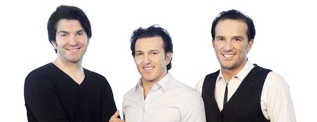 Die drei Firmengründer (von links): Cevat Yerli, Avni Yerli, Faruk Yerli.