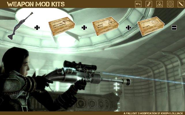 """Die Mod """"Weapon Mod Kits"""" dürfte das Paradies für Waffennarren sein."""