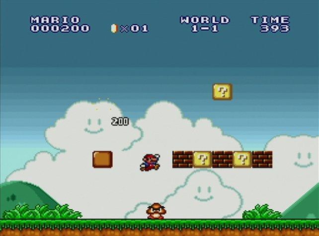 Das Geburtstagskind in Super Mario Bros.