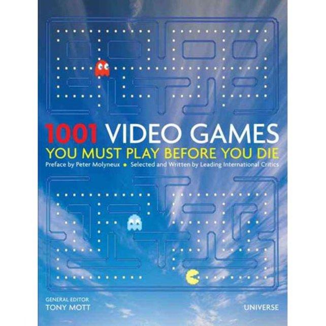 1001 Videospiele, die ihr vor eurem Tod unbedingt gespielt haben solltet.