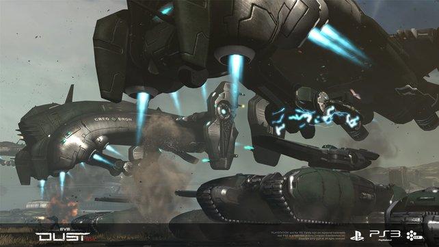 Zwischen PC- und PS3-Spielern gibt es einen Sprach-Chat.
