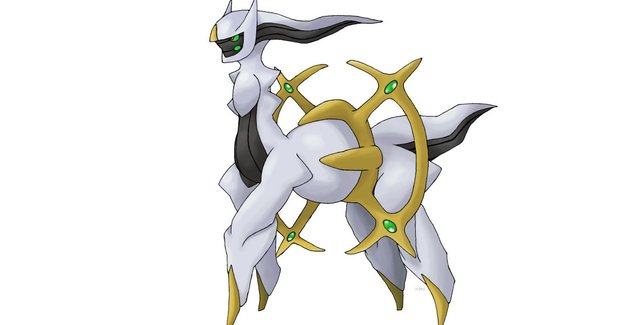 Der Gott aller Pokémon.