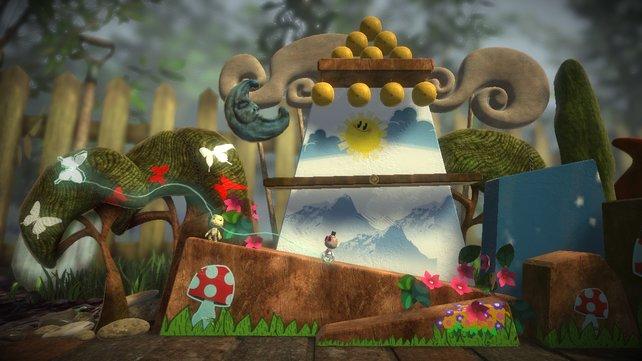Trotz der Seitenansicht erlaubt das Spiel drei Ebenen in die Tiefe des Raumes.
