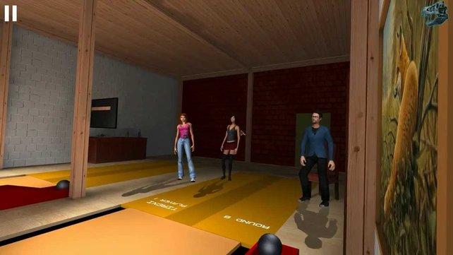 Im Kegel Simulator 2013 könnt ihr gegen bis zu acht Gegner antreten.