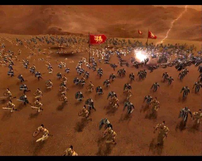 Gottes Zorn: Da soll mich doch der Blitz beim Schlachten treffen.