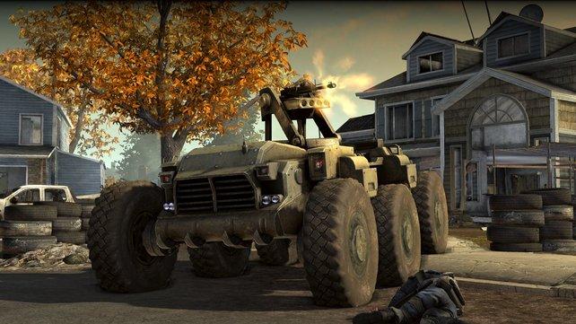 Fahrzeuge spielen besonders im Mehrspieler-Modus eine zentrale Rolle.