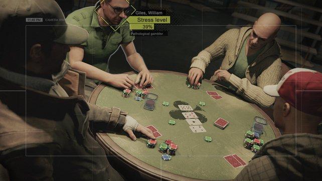 Neben den aufregenden Hacker-Aufträgen, warten Minispiele wie beispielsweise Poker auf euch.