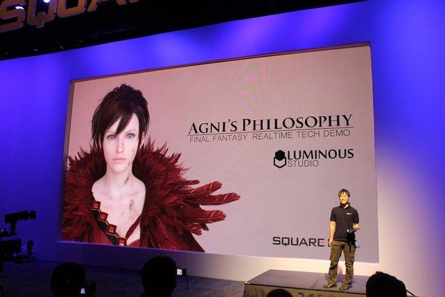 Square zeigt auf der E3 die Luminous-Engine.