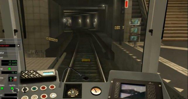 Tuuut-tuuuuut! Der U-Bahn-Fahrer kommt! Und fährt wieder. Und kommt wieder. Und....