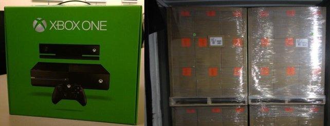 Erste Xbox One rollt vom Fließband