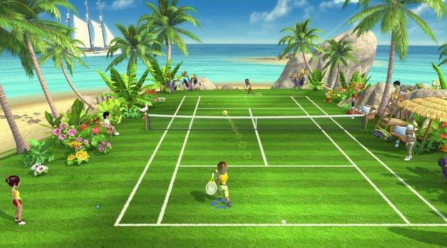 In Racket Sports geht es bei Schläger-Sportarten zur Sache.