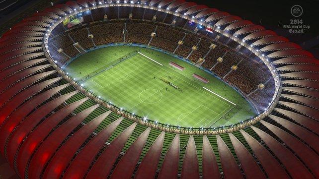 Die ausgelassene Stimmung im Stadion und Zuhause wird passend eingefangen.