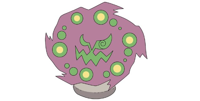 Ein verfluchtes Pokémon mit fragwürdigem Charme.