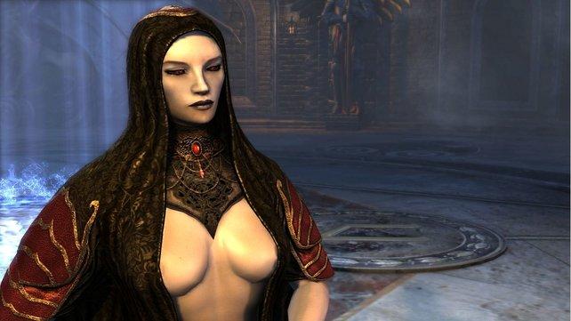 Einige Figuren im Spiel bieten tiefe Einblicke.