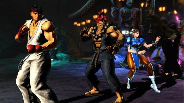 Die Capcom-Riege fordert heraus ...
