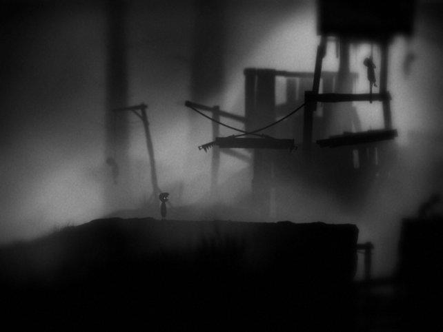 Als einsamer Hauptdarsteller erkundet ihr die düsteren Landschaften