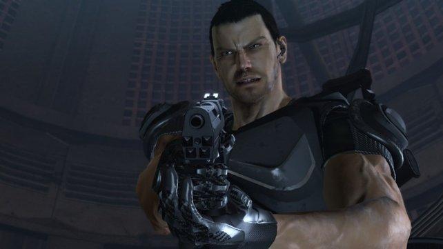 Die Hauptfigur fällt in die Kategorie amerikanischer 08/15-Actionheld.