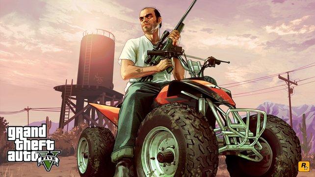 GTA 5 wird eine gigantische Spielwelt und drei Hauptcharaktere bieten.
