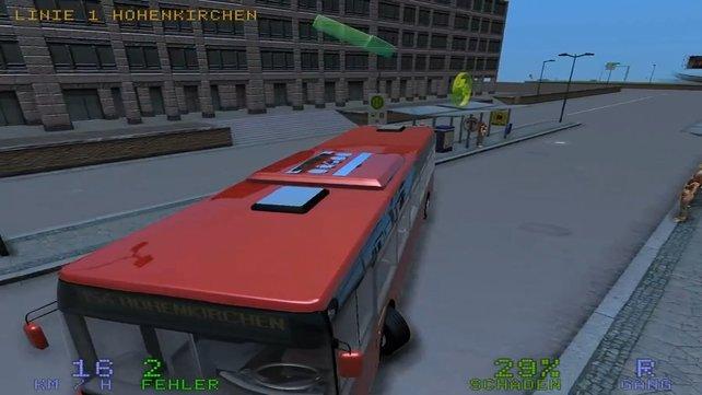 Als Busfahrer werdet ihr öfter irgendwo hängenblieben.