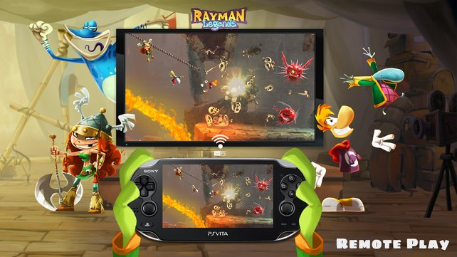 Das kennt ihr von der Wii U: Auf der PS Vita könnt ihr das Spiel auch ohne Fernseher weiterspielen