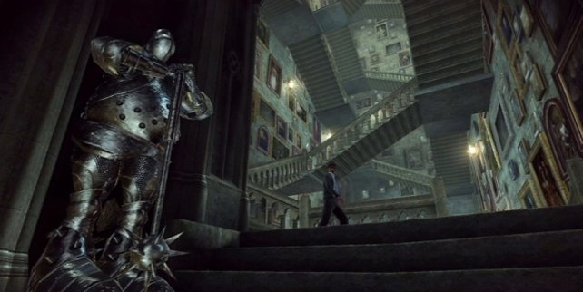 Welche Treppe führt wohin: Ihr erkundet Hogwarts.