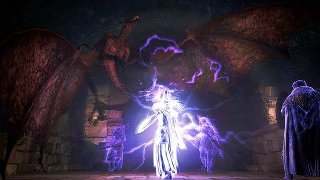 Die neue Teilwelt von Dark Arisen ist für Charaktere ab Level 50 geeignet. Eine Ü50-Sause sozusagen.