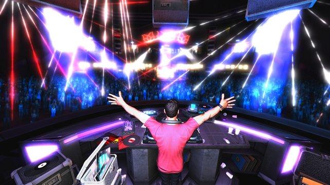 DJ Tiesto regiert am Plattenteller.